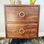 Custom 2 drawer cabinet